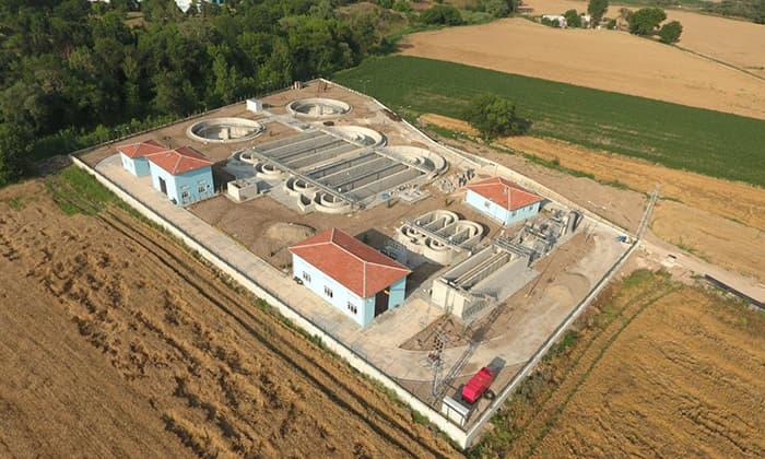 Susurluk atık su arıtma tesisi yapımı tamamlandı