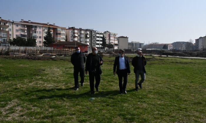 Susurluk Stadı ve Susurluk Gençlik Merkezi inşaatı sürüyor