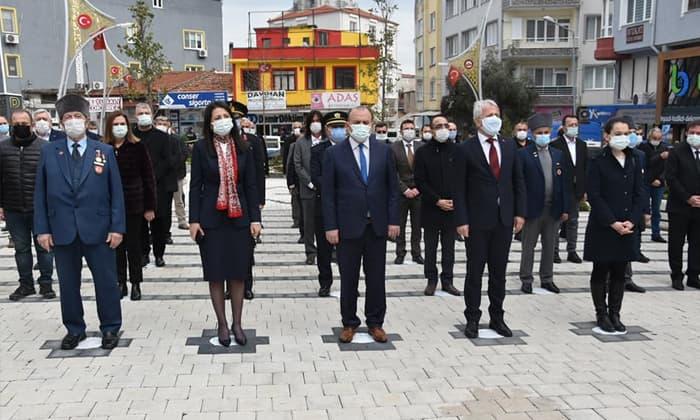 18 Mart Şehitleri Anma Günü ve Çanakkale Zaferi töreni düzenlendi