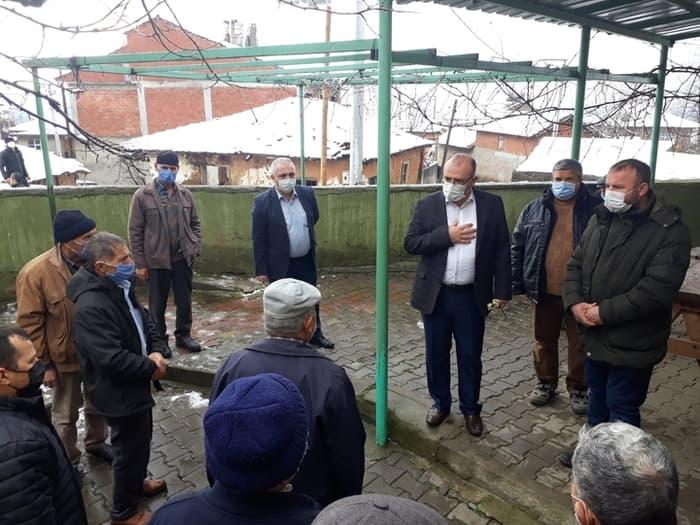 Susurluk Karaköy Mahallesi ziyareti
