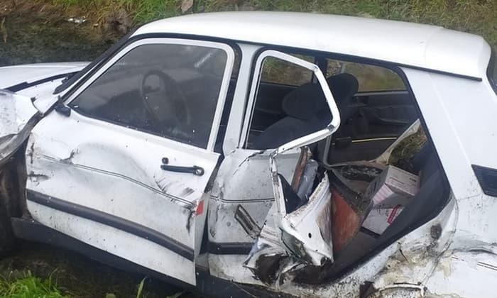 Susurluk'ta trafik kazası: Beton mikseriyle çarpıştı!