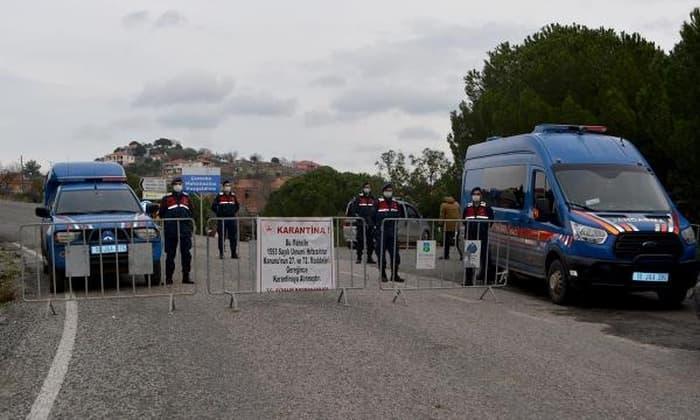 Balıkesir'de ilçe ilçe vaka durumu (22 Mart)