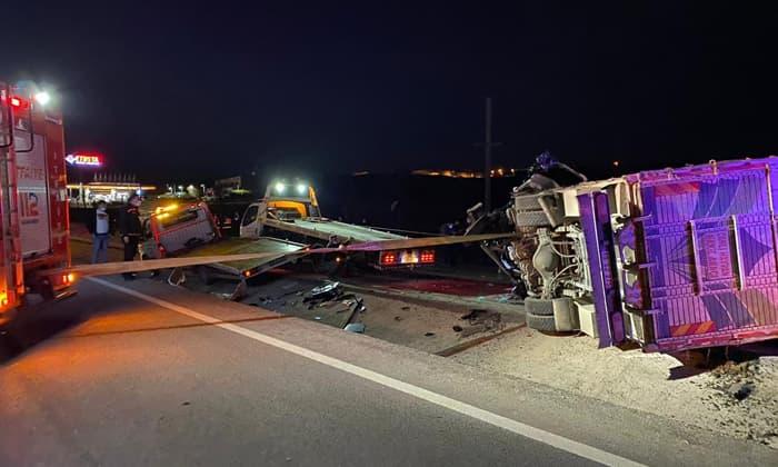 Bandırma'daki kaza Susurluk'ta yürekleri yaktı