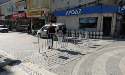 Susurluk'ta cadde ve meydanlar araç trafiğine kapatıldı!