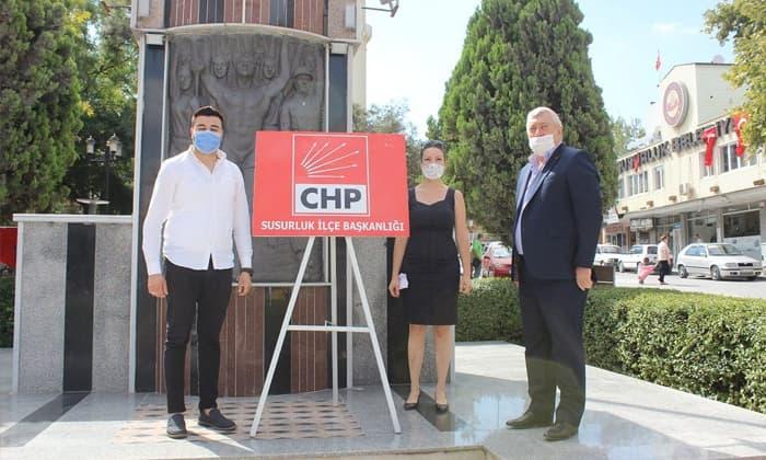 Susurluk CHP İlçe Başkanlığı toplantısına erteleme