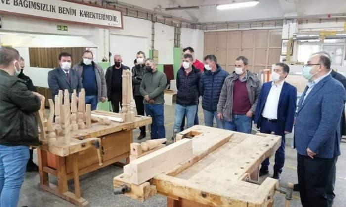 Susurluk Mesleki ve Teknik Anadolu Lisesi'nden üretime büyük katkı!