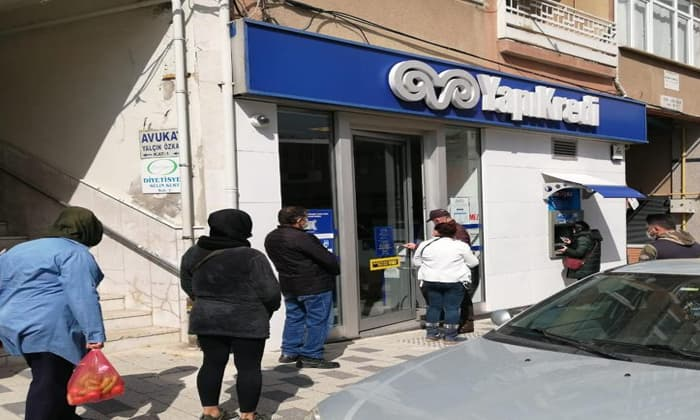 Susurluk'ta banka denetimleri yapıldı