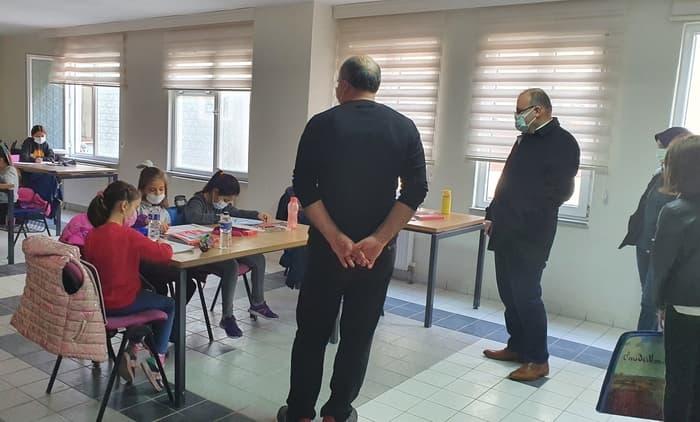 Susurluk Gençlik Merkezi'ne önemli ziyaret