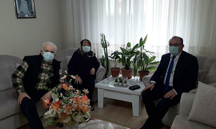 Susurluk'ta şehit aileleri ve şehitlikler ziyaret edildi