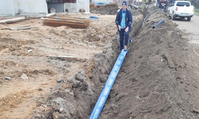 Susurluk'un yeni yerleşim alanlarında altyapı çalışmaları başladı
