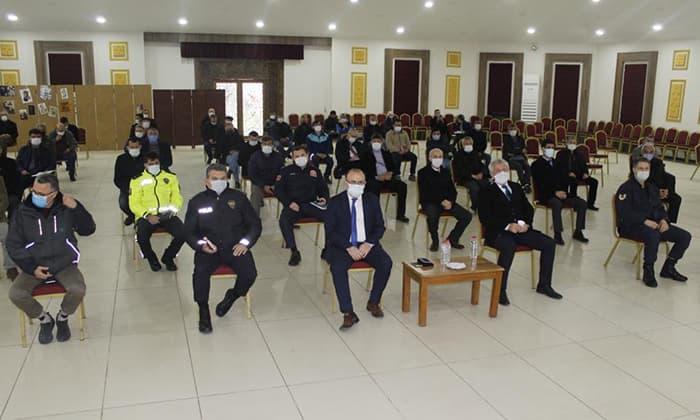 Mart ayı Muhtarlar toplantısı yapıldı