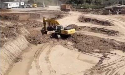Susurluk Yeni Devlet Hastanesi inşaatı