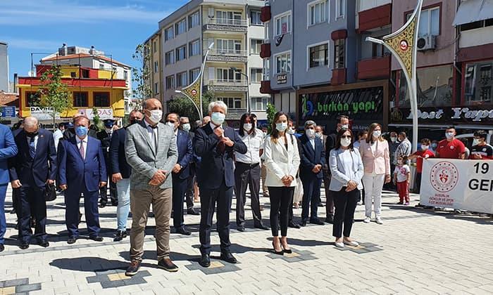 Susurluk'ta 19 Mayıs coşkusu böyle yaşandı