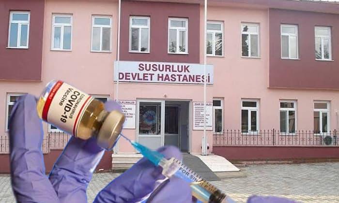 Susurluk Devlet Hastanesi'nden BioNTech aşısı açıklaması