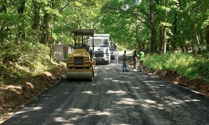 Çaylak'ta asfalt çalışması başladı!