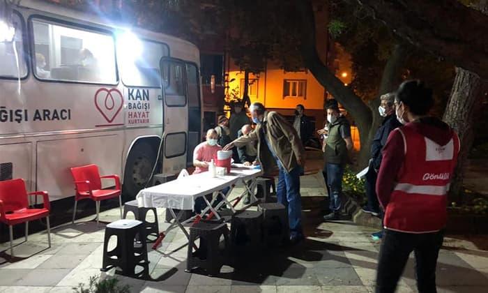 Susurluk'ta kan bağışına büyük ilgi