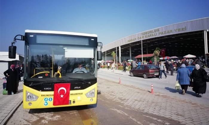 Dereköy, Karapürçek ve Göbel otobüslerine yeni düzenleme