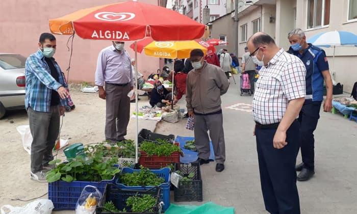 Susurluk'ta pazarlar denetlendi
