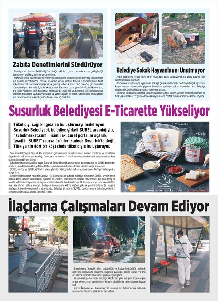 Susurluk Belediye Bülteni Haziran ayı sayısı