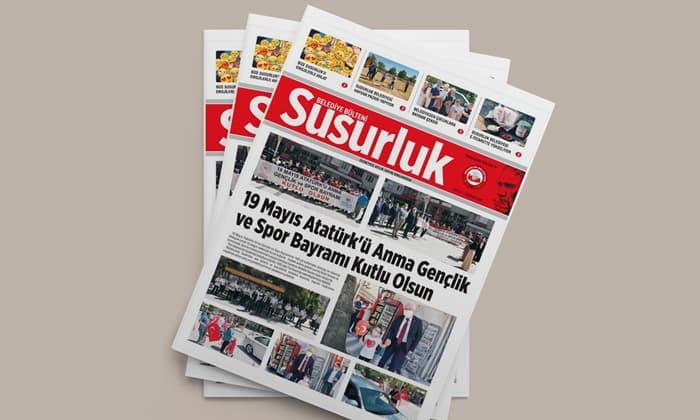 Susurluk Belediye Bülteni Haziran ayı sayısı çıktı