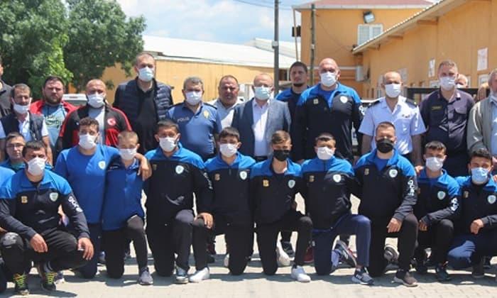 Susurluk Güreş Takımı Balıkesir Büyükşehir Güreş Takımını misafir etti.