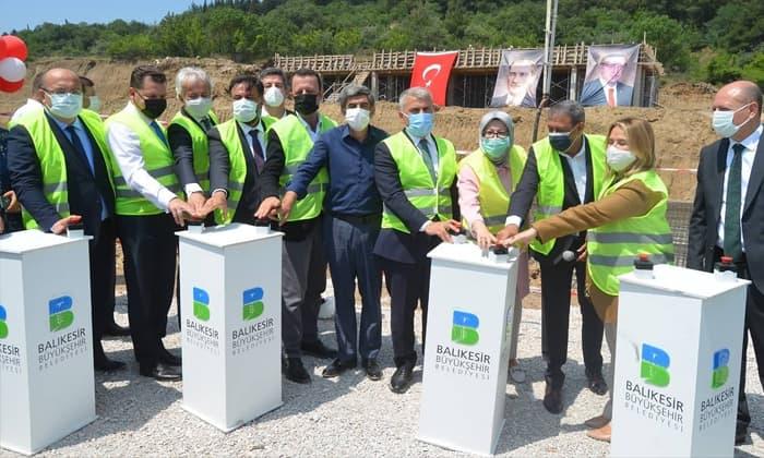 Susurluk Yeni Devlet Hastanesi temel atma töreni gerçekleştirildi