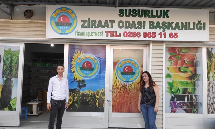 Susurluk Ziraat Odası Başkanlığı Yeni satış ofisini açtı